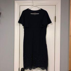 NWOT Enfocus Studio Classy dress navy blue dress